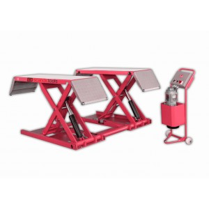 Moveable Scissor lift 3 tons, lifting height 1m