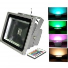 20W LED floodlight RGB, color changing