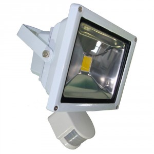 20W LED Floodlight AC 85-220V, sensor