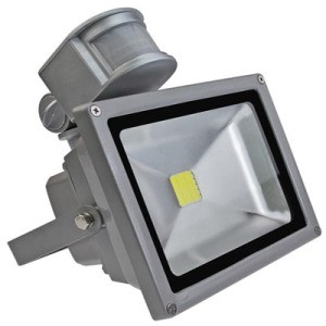 30W LED Floodlight AC 85-220V, sensor