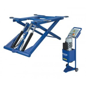 Moveable scissor lift 2,7 tons