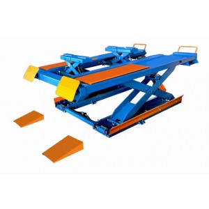 Surface mounted scissor lift 3.5 ton for wheel alignment