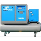 3-in-1 movable screw compressor 1100 l/min
