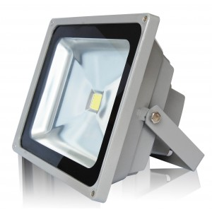 50W LED floodlight, DC 12/24V