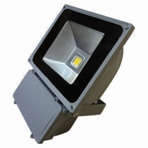 80W LED floodlight, DC 12/24V