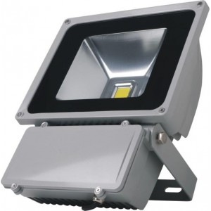 100W LED floodlight, DC 12/24V