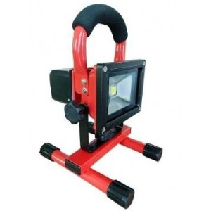 LED Floodlights 10W, Portable, with battery