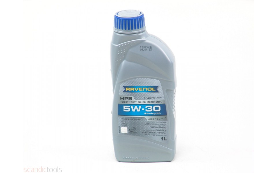 5w 30 Semi Synthetic Engine Oil Hps Scandic Tools