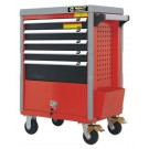 Tools trolley 5 drawer, 150 kg