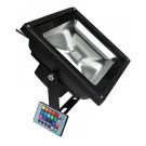 50W LED floodlights RGB, color changing