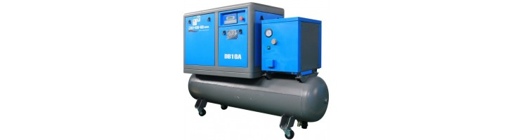 Screw compressors 3-in-1